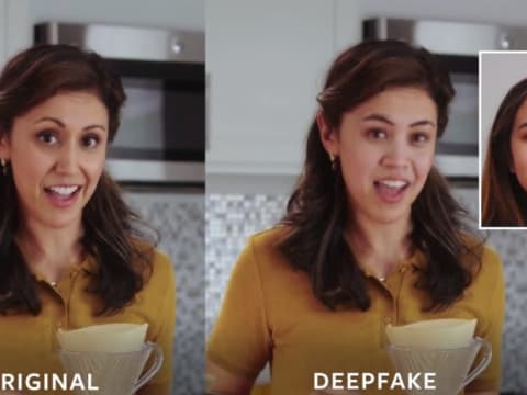 A data set specially designed by Facebook and stakeholders to feed the Deepfake Detection Challenge. (Facebook AI)