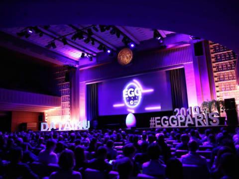 Dataiku's EGG Paris 2019 conference took place at the Théâtre de la Mutualité. (DR)
