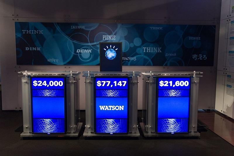 Watson, Intelligence Artificielle développée par IBM, a lui remporté le Jeopardy.