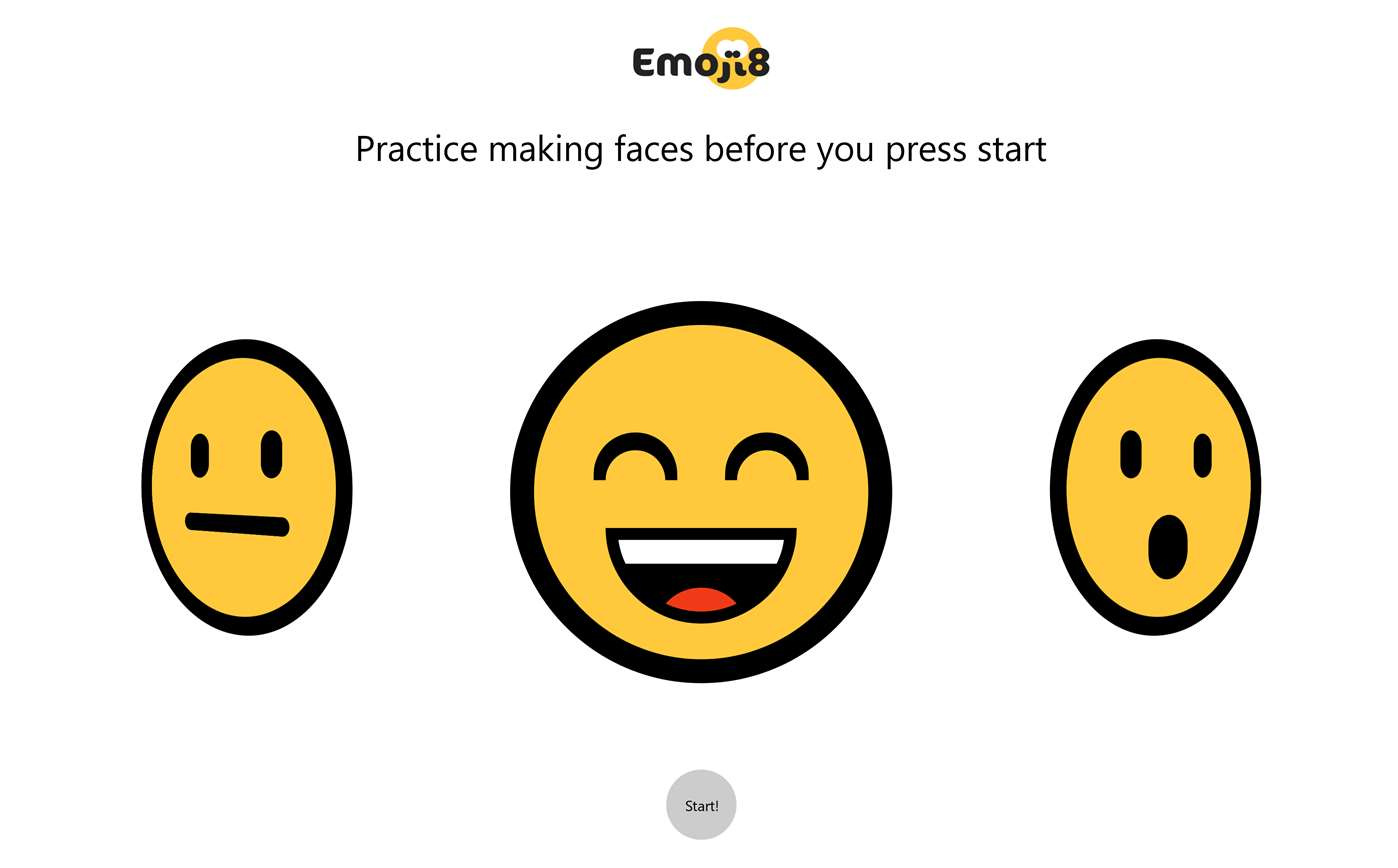 Can you imitate the emoji offered by Emoji8, Windows 10's local Machine Learning UWP?
