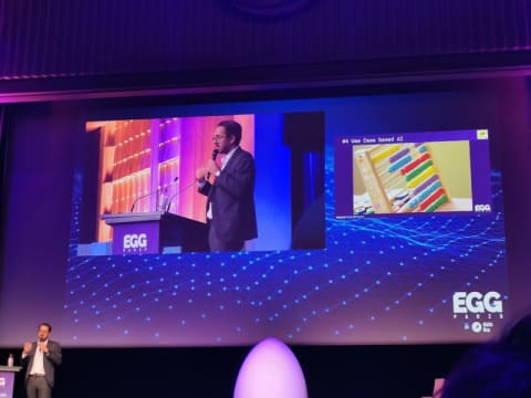 Swiss Post was one of the speakers at the EGG 2019 conference in Dataiku. (DR)