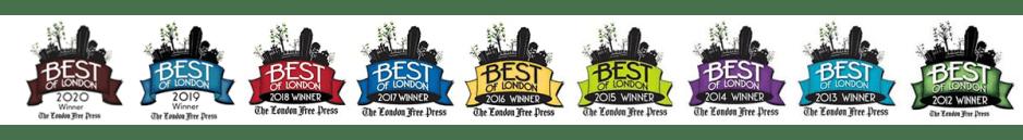 Best of London 2012-2020