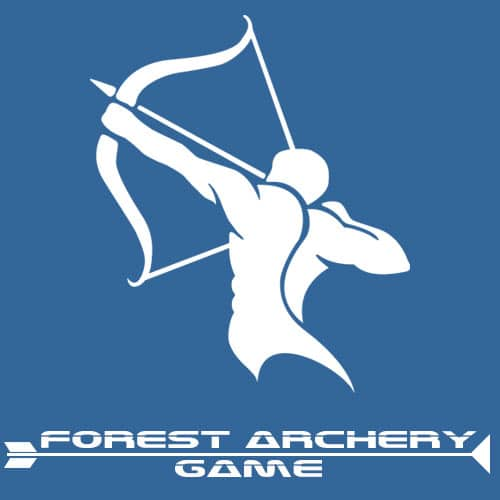 Logo forest archery game