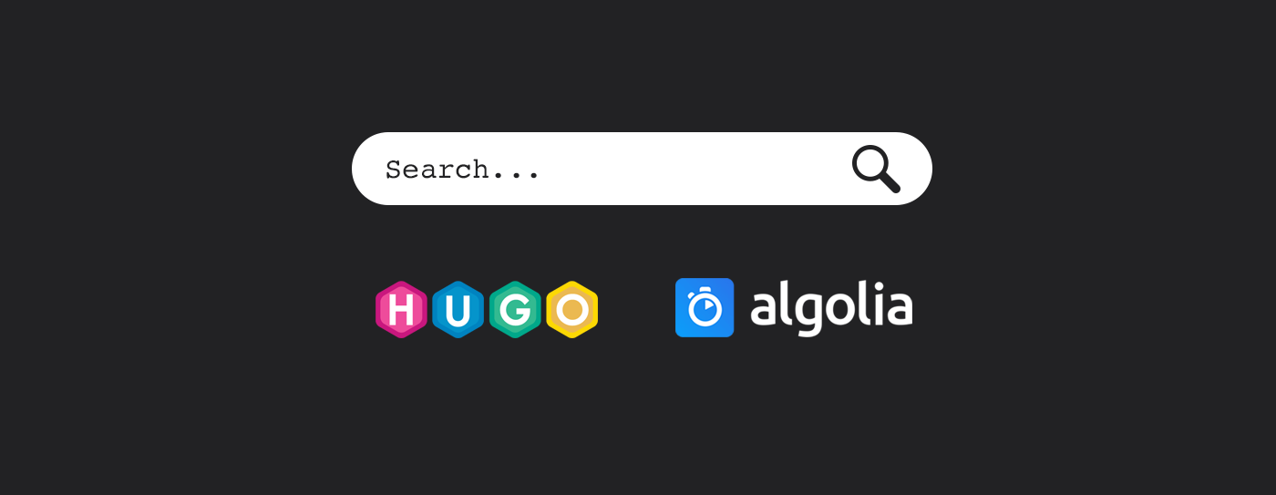 Static site search with Hugo + Algolia