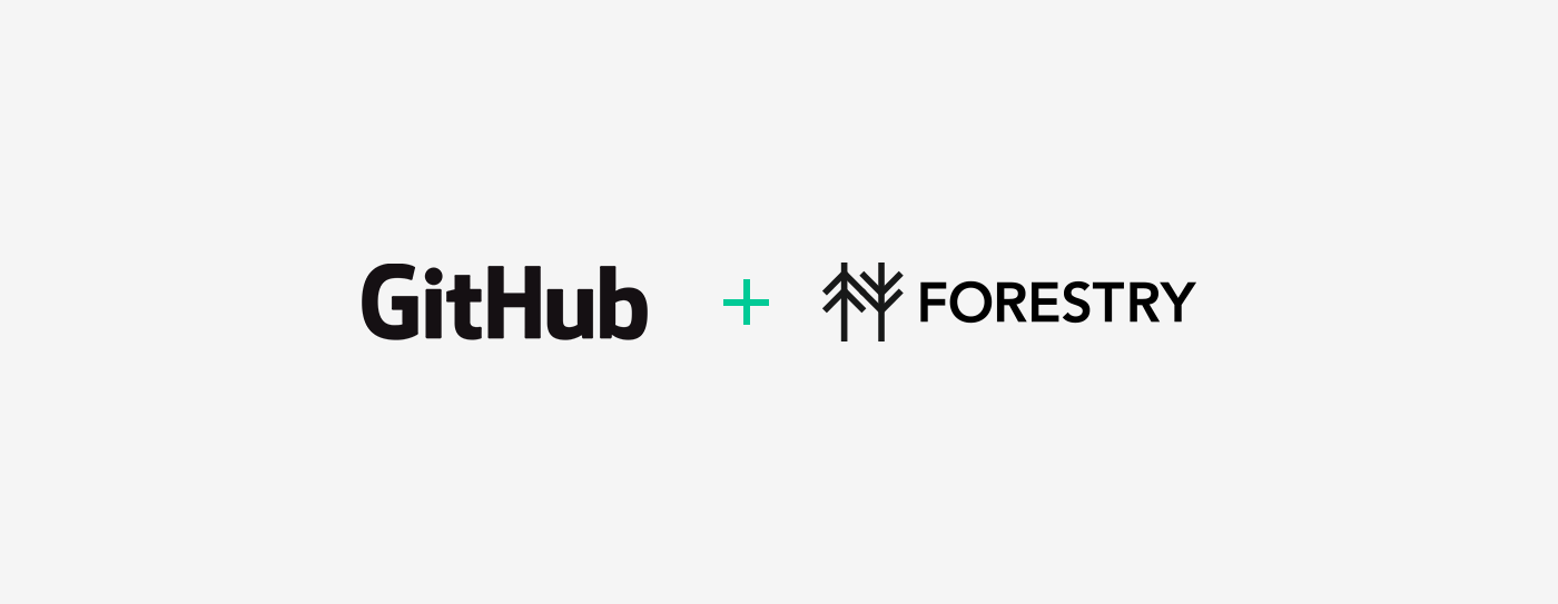 Up & Running With Hugo, Part 2: Setting up GitHub & Forestry (CI & CD)