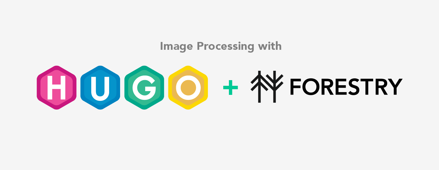 How To Use Hugo's Image Processing With Forestry