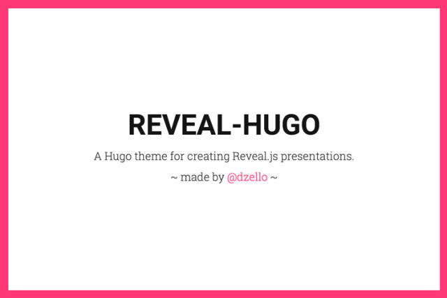 Harness the Power of Static Site Generators to Create Presentations