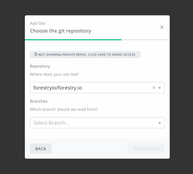 https://res.cloudinary.com/forestry-io/image/fetch/c_limit,dpr_auto,f_auto,q_80,w_640/https://forestry.io/uploads/2018/02/add-site-flow-choose-repo.png
