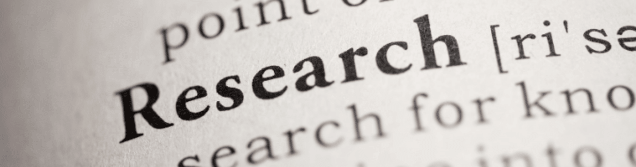 Research is essential to business