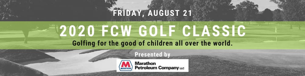 2020 FCW Golf Classic web banner