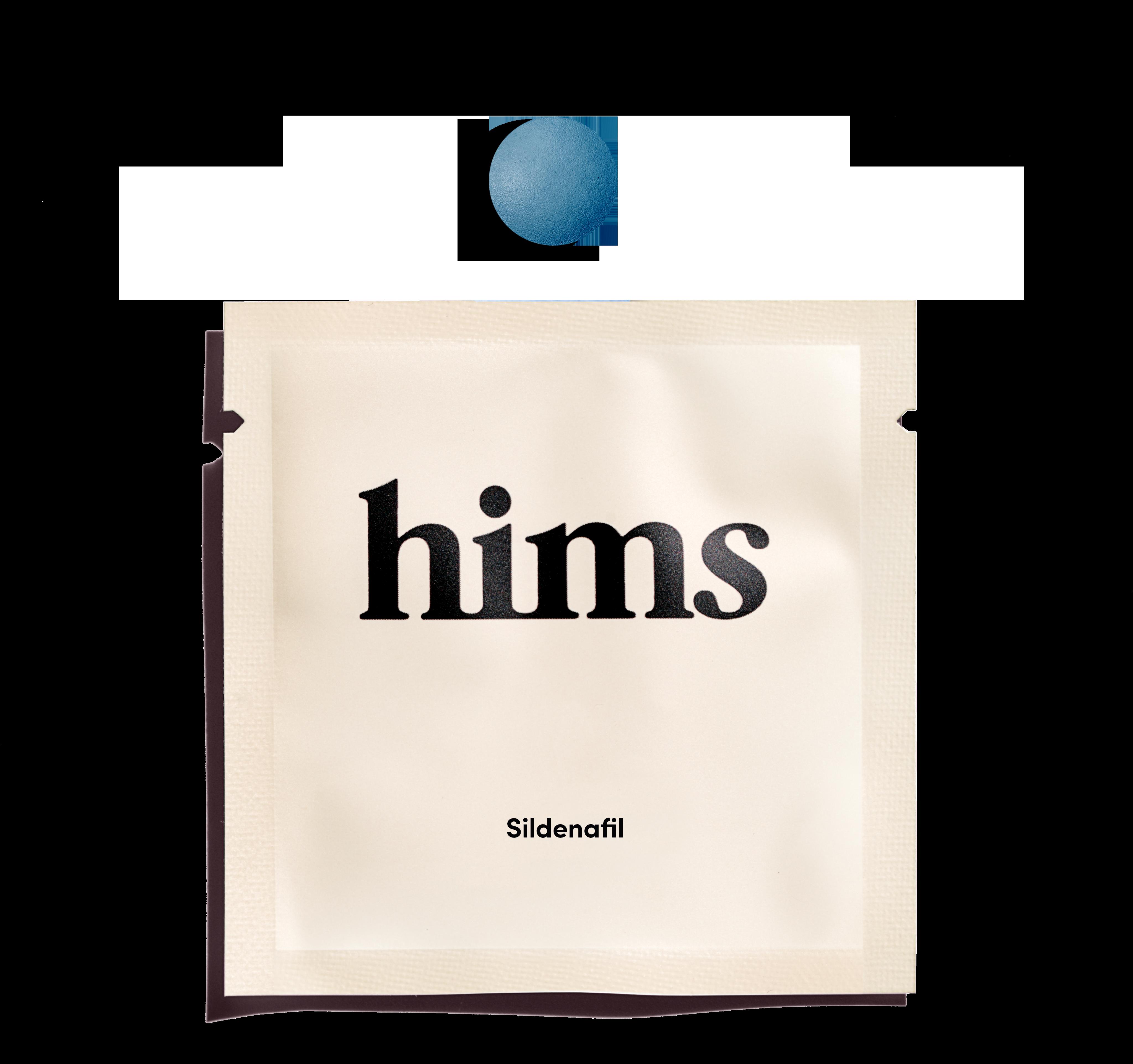 Sildenafil packaging