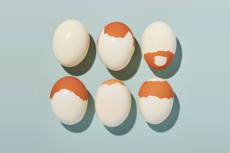 balding eggs