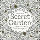 Secret garden. An inky treasure hunt and colouring book