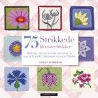 75 strikkede blomsterblokker