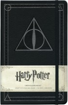 Harry Potter Dødstalismanene linjert notatbok