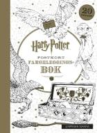 Harry Potter postkort fargeleggingsbok