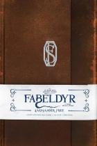 Fabeldyr og hvor de er å finne: Salmander Fisle linjert notatbok