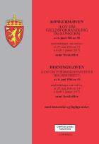Konkursloven ; Dekningsloven : (lov om fordringshavernes dekningsrett) av 8. juni 1984 nr. 59 : med endringer, sist ved lov av 27. mai 2016 nr. 14 (i kraft 1. januar 2017) : samt forskrifter : med historiske og faglige noter