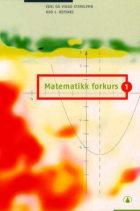 Matematikk forkurs 1