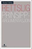 Rettslig prinsippargumentasjon