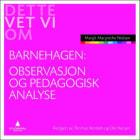 Observasjon og pedagogisk analyse