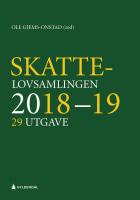 Skattelovsamlingen 2018/19