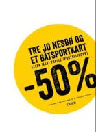 Tre Jo Nesbø og et båtsportkart