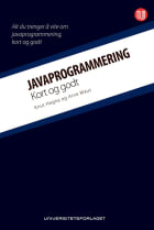 Javaprogrammering