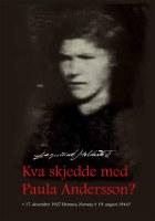 Kva skjedde med Paula Andersson?