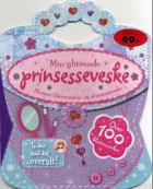 Min glitrende prinsesseveske. Klistremerke- og aktivitetsbok. Over 100 klistremerker