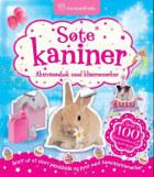 Søte kaniner. Aktivitetsbok med klistremerker. Over 100 klistremerker til å ta av og på