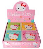 Hello Kitty. Assortert borddisplay. 28 bøker. Tallene (7eks.). Travel dag (7.eks.) Dyrenes lyder (7  eks.) Mine første ord (7 eks.)