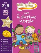 Lær å skrive norsk. 7-9 år. Gullstjerne