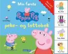 Min første Peppa Pig peke og lotto bok