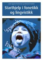 Starthjelp i fonetikk og lingvistikk