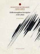 Folkemengdens bevegelse 1735-2014