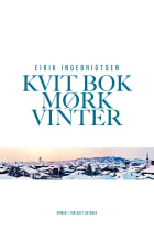 Kvit bok mørk vinter