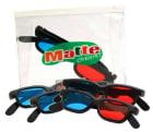 Matte overalt 3B. Konkretisering 3D-briller. Mappe med 5 briller