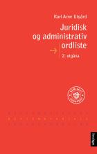 Juridisk og administrativ ordliste