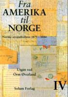 Fra Amerika til Norge. Bd. 4