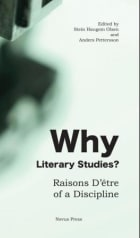 Why literary studies?