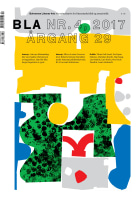 BLA - Bokvennen litterær avis. Nr. 4 2017
