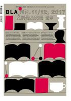 BLA - Bokvennen litterær avis. Nr. 11/12 2017