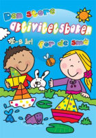Den store aktivitetsboken for de små. Blå