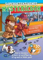 Superdetektivenes mysteriebok. Togskurker. Med klistremerker, detektiv-id-kort, sertifikat og falskt pass