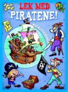 Lek med piratene! Blått aktivitetshefte med klistremerker
