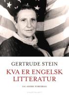 Kva er engelsk litteratur og andre foredrag