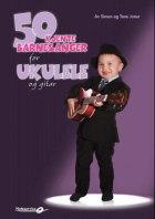 50 kjente barnesanger for ukulele og gitar