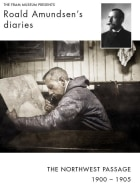 Roald Amundsen's diary  from the Northwest passage