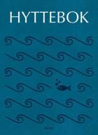Hyttebok. Vann. Blå forside